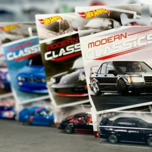 Mobil Hot Wheels Langka Modern Classic SET 2017