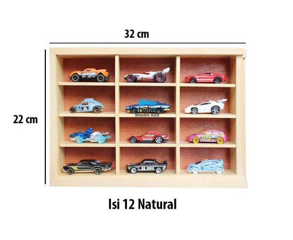 Rak Hot Wheels. Tomica. Matchbox. Diecast Skala 64 - natural 12
