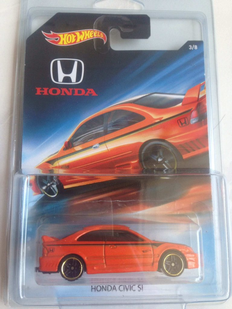 honda civic si - mobil hot wheels honda series