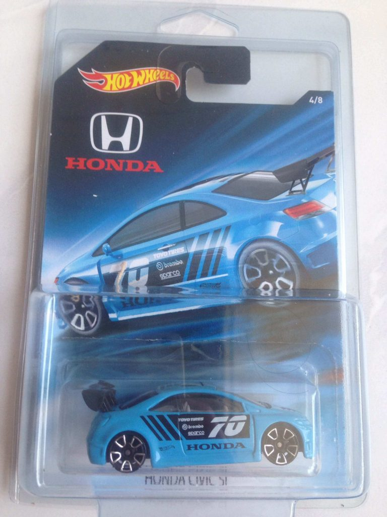 honda civic si sport - mobil hot wheels honda series