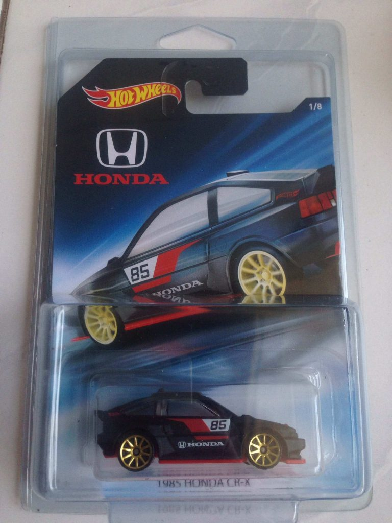 honda cr-x - mobil hot wheels honda series