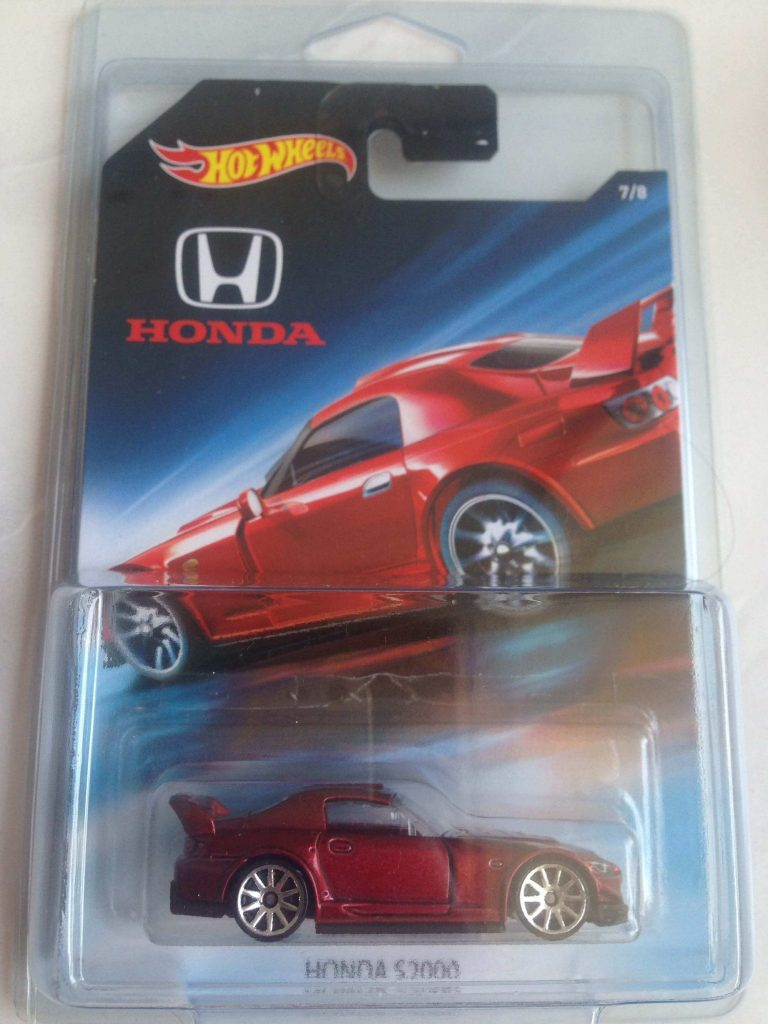 honda s2000 - mobil hot wheels honda series