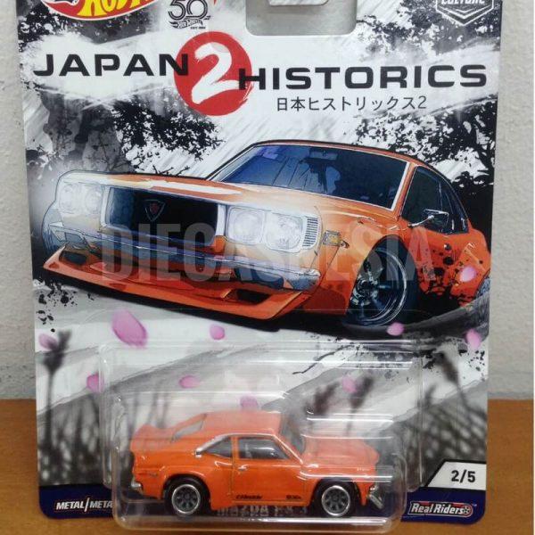hot wheels japan historics 2 mazda rx-3