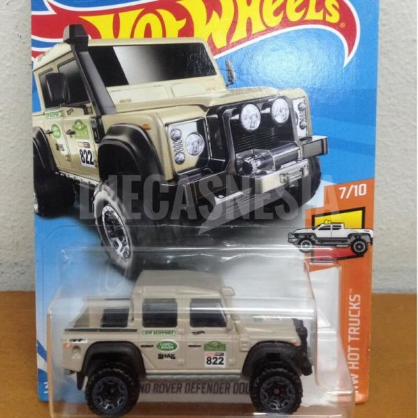 hot wheels land rover defender double