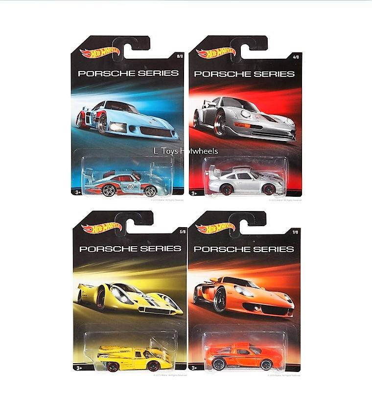 hot wheels langka PORSCHEE WALMART SERIES