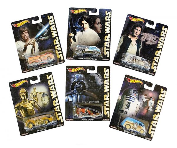 hot wheels langka Star wars movie pop culture complete series