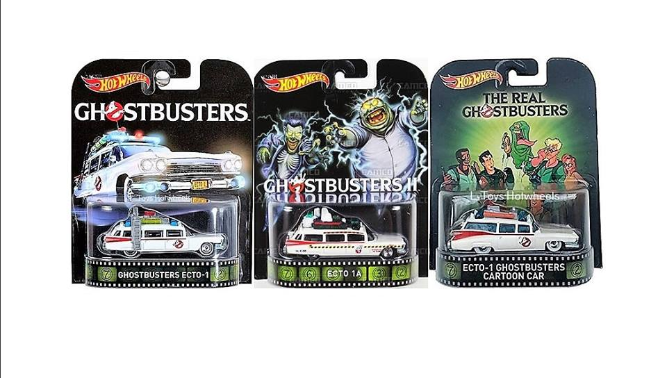 hot wheels langka ghostbusters ecto series