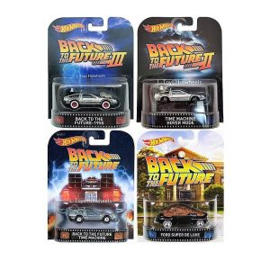 hot wheels langka retro movie back to the future series