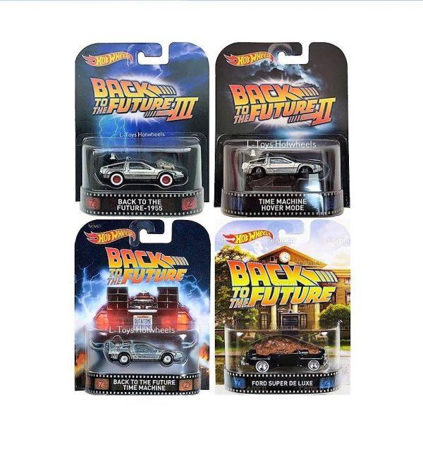 hot wheels langka retro movie back to the future series
