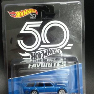 Mobil Hot Wheels Langka Datsun Bluebird Wagon 50th Favorites