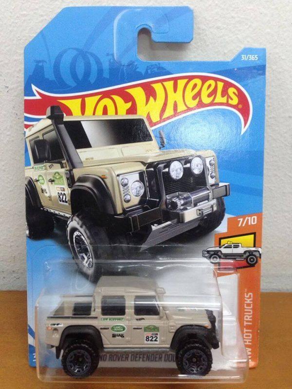 mobil hot wheels langka Land Rover Defender diecasnesia