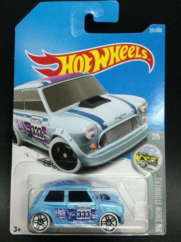 mobil hot wheels langka Mini Morris