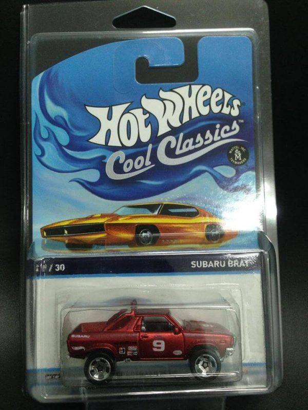 mobil hot wheels langka cool classics subaru brat