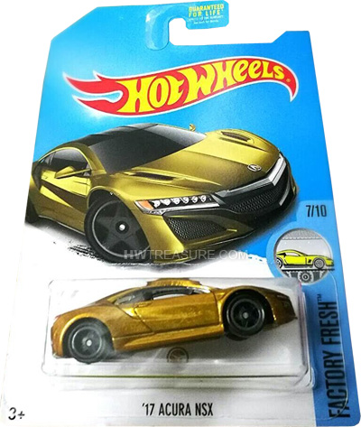 hot wheels langka super treasure hunt 17 Acura NSX