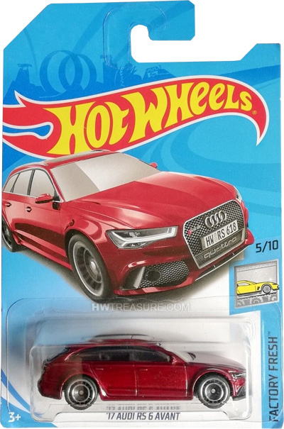 hot wheels langka super treasure hunt 17 Audi RS 6 avant