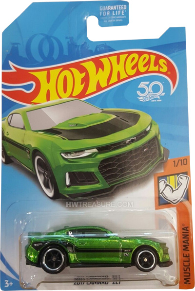 hot wheels langka super treasure hunt 2017 Camaro ZL1