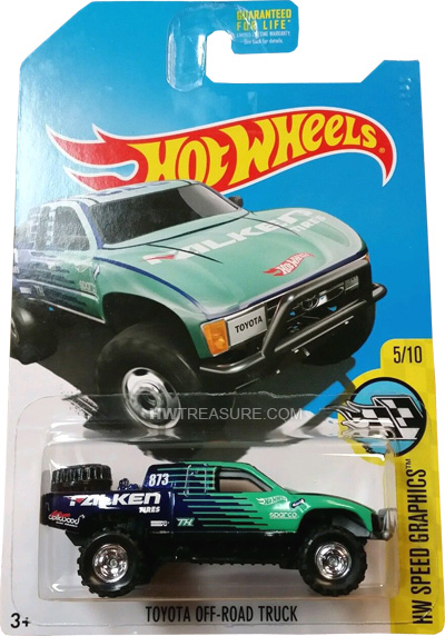2017 Toyota Off Road Truck hot wheels langka