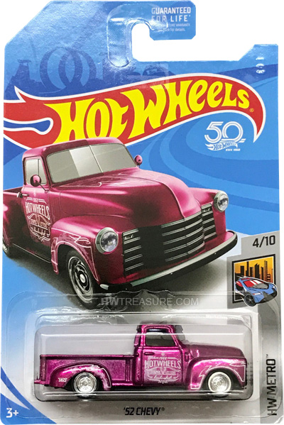 hot wheels langka super treasure hunt 52 Chevy