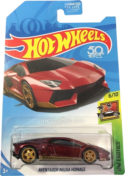 hot wheels langka super treasure hunt Aventador Miura Homage