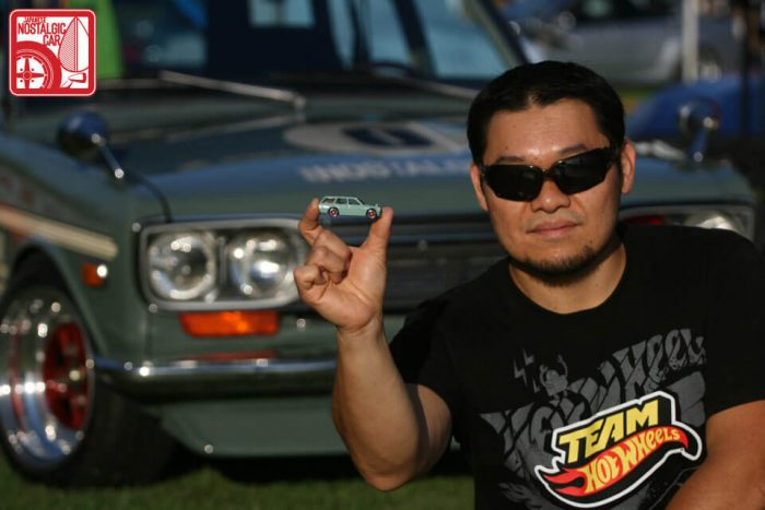 Jun Imai Hot Wheels Langka Datsun 510 wagon