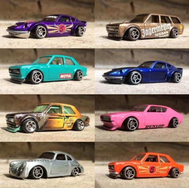 Jun Imai hot wheels langka