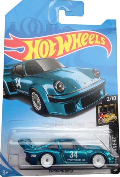 hot wheels langka super treasure hunt Porsche 934.5
