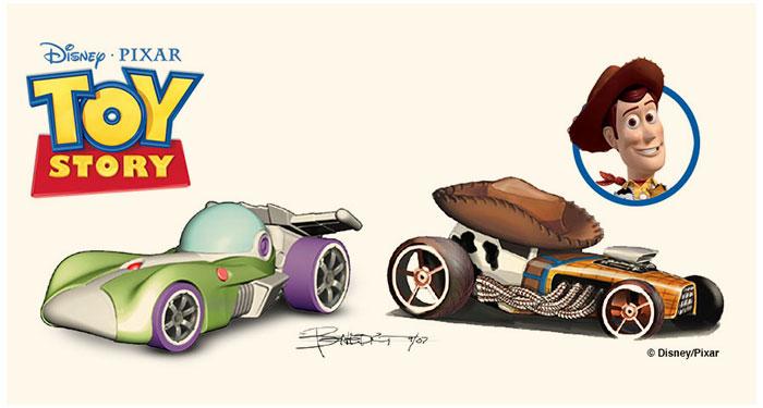 Sejarah Mobil Hot Wheels CHARACTER CARS 2010