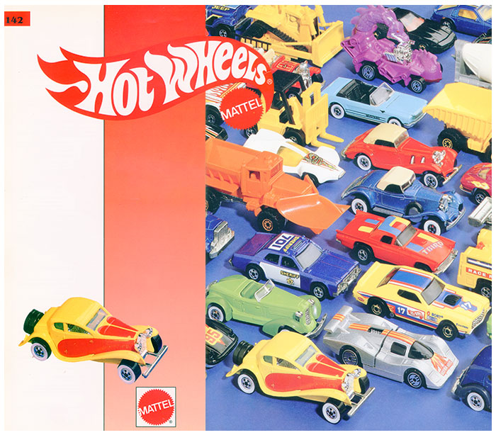 Sejarah Mobil Hot Wheels Langka THE MAGIC OF COLOR RACERS 1988