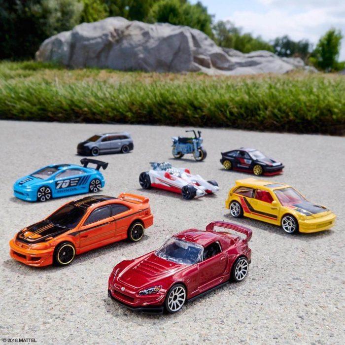 Sejarah Mobil Hot Wheels honda series