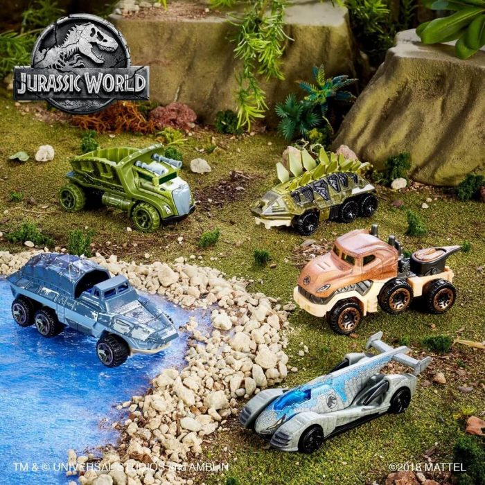 Sejarah Mobil Hot Wheels jurassic World Series