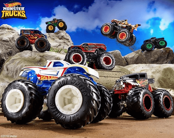 Sejarah Mobil Hot Wheels monster trucks 2018