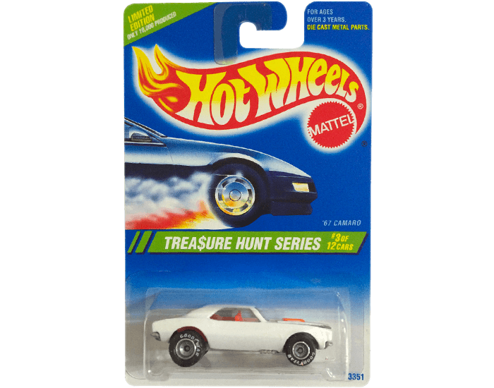 Sejarah Mobil Hot Wheels treasure hunt 1995