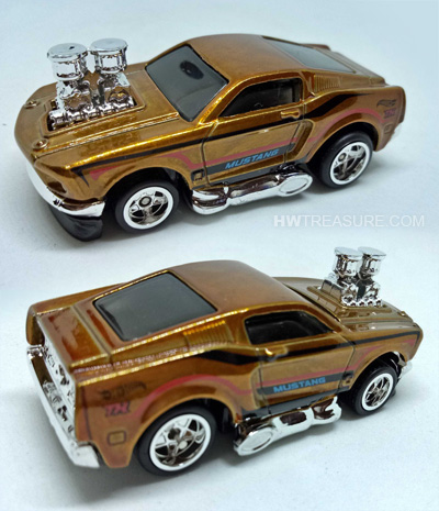 hot wheels langka super treasure hunt 68 Mustang