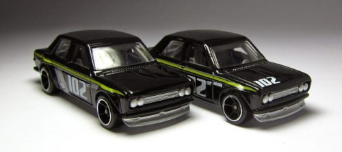 hot wheels langka error no hood tampo datsun bluebird 510