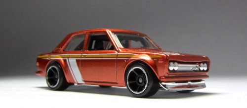 hot wheels langka error tampo stripe line datsun bluebird