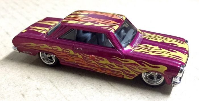 hot wheels langka super treasure hunt '63 Chevy II