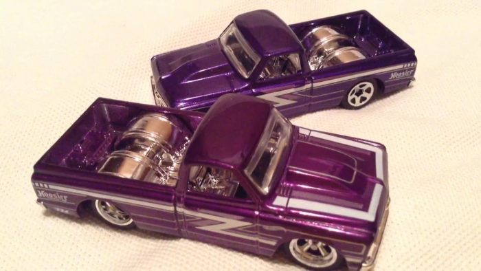 hot wheels langka super treasure hunt '67 Chevy C10