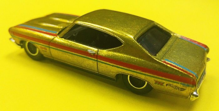 hot wheels langka super treasure hunt '69 Chevelle SS 396