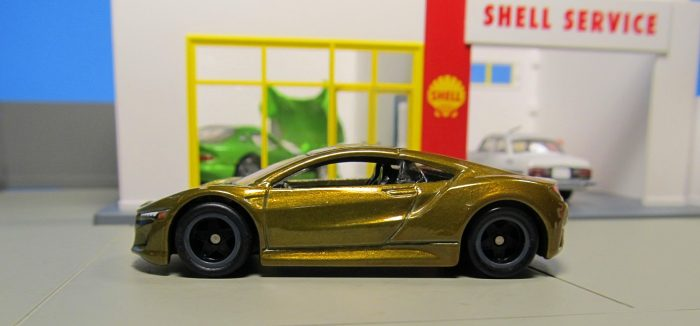 hot wheels langka super treasure hunt 17 Acura NSX Minicar