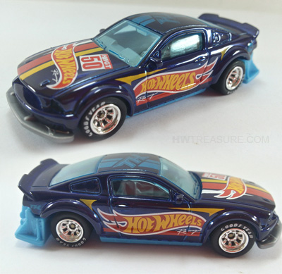 hot wheels langka super treasure hunt 2005 Ford Mustang