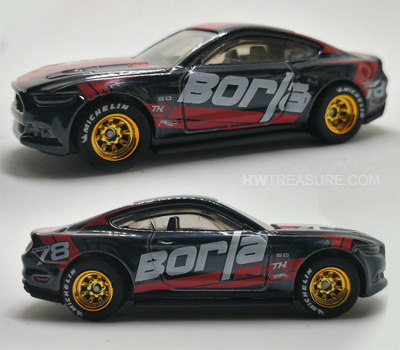 hot wheels langka super treasure hunt 2015 Ford Mustang GT