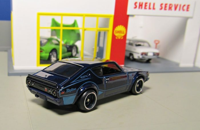 hot wheels langka super treasure hunt Nissan Skyline 2000GT R