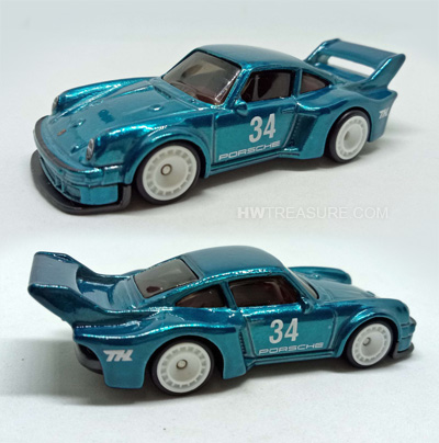 hot wheels langka super treasure hunt Porsche 934 5