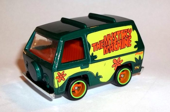 hot wheels langka super treasure hunt The Mystery Machine