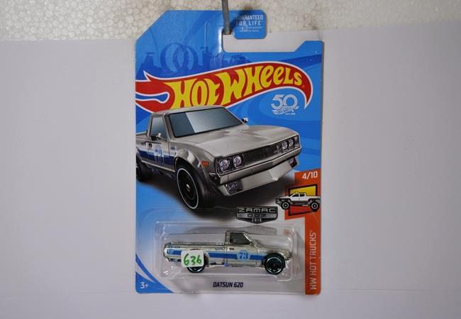 hot wheels langka datsun 620 zamac