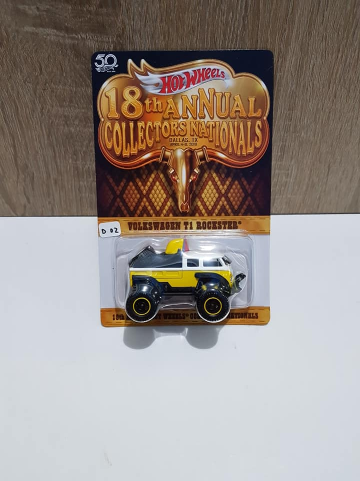 hot wheels langka volkswagen t1 rockster annual collectors nationals