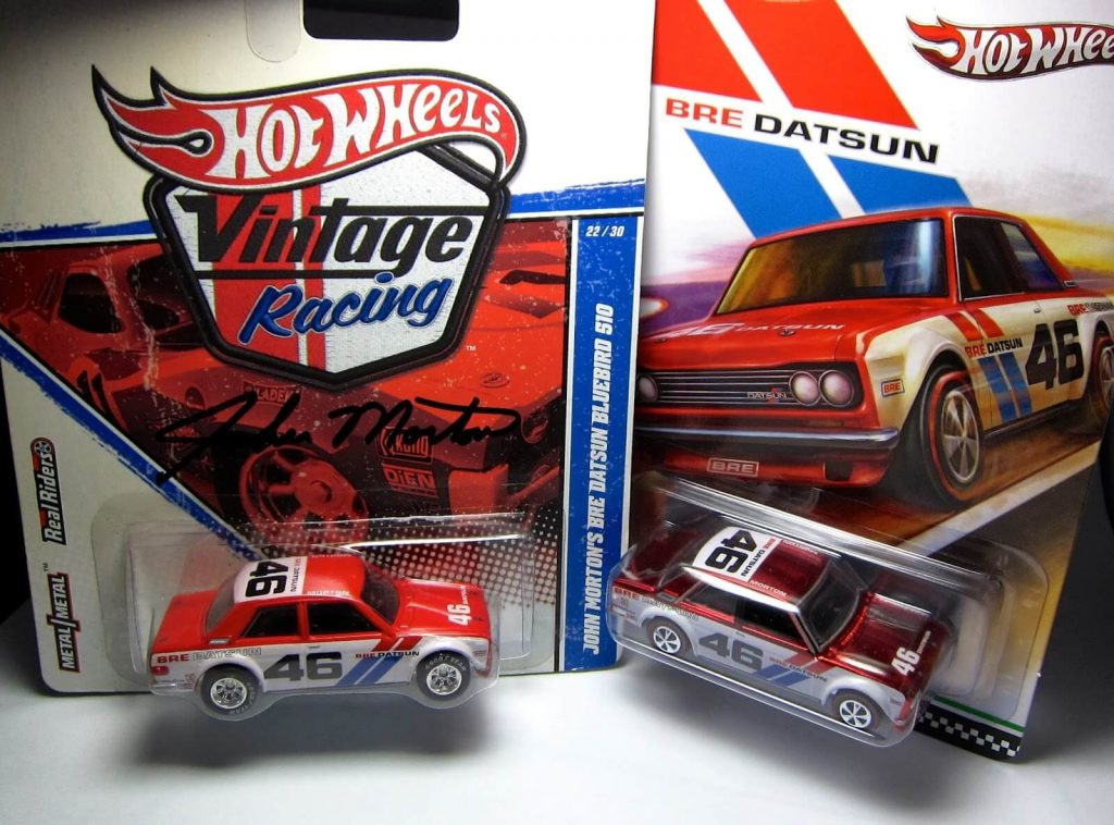 Hot Wheels langka 2019 BRE Datsun vintage racing RLC
