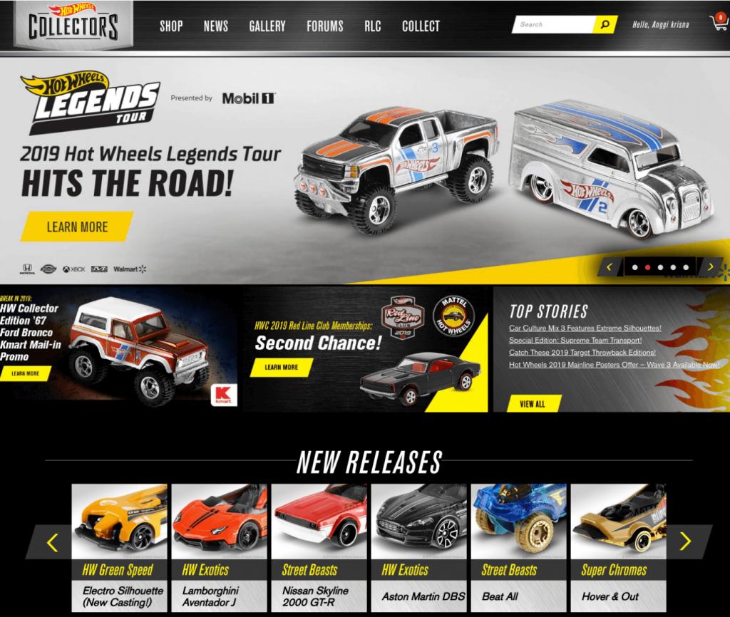 Hot Wheels Collectors -  salah satu tempat informasi untuk para pemburu hot wheels langka