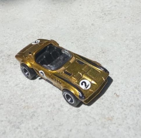 Hot Wheels Corvette Grand Sport Roadster THS 2019 (Loosed Mobil)