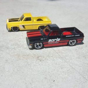 Hot Wheels Langka 83 Chevy Silverado Truck (Loosed 2 Mobil)